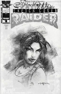Top Cow Classics in Black and White Tomb Raider 1DF 2000 VF Stock Image