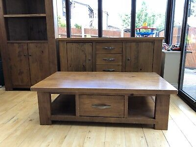 Tremendous Next Chiltern Large Coffee Table Solid Wood Chunky Oak Camellatalisay Diy Chair Ideas Camellatalisaycom