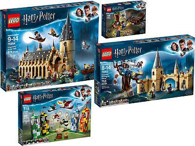 LEGO Harry Potter 75956 75954 75953 75950 Collection 2018 N10/18