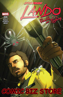 Star Wars Lando Double Or Nothing #4 (Of 5) (2018) 1St Printing Main Cover