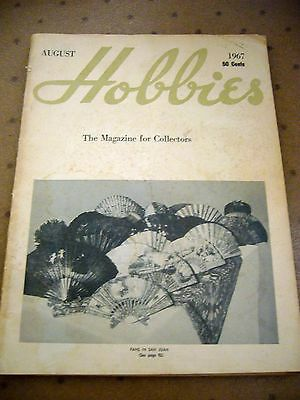 Vintage August 1967 Hobbies The Magazine For Collectors
