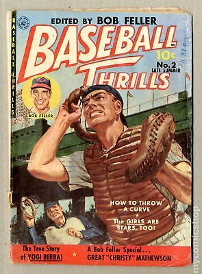 Baseball Thrills #2 1951 GD- 1.8