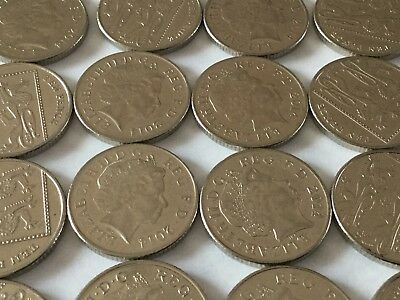 10p Ten Pence Coin, British Decimal Currency.