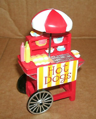 1/24 Scale Hot Dog Stand Miniature Food Vending Cart Diorama Display Accessory G