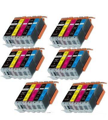 30-Pack/Pk Ink Combo for Canon PGI-250 CLI-251 Pixma iX6820 MX922 MG5620 MG6620