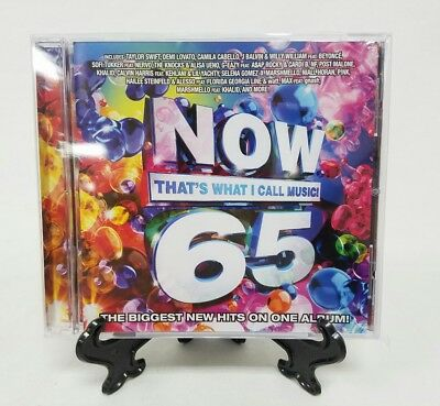 Now That's What I Call Music 65 CD New Sealed Swift Demi Camila Post Malone