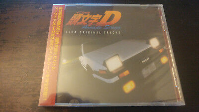 INITIAL D / ARCADE STAGE SEGA ORIGINAL TRACKS CD Miya Records