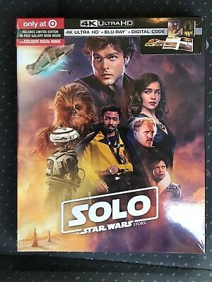 Solo A Star Wars Story 4K UHD + Blu-Ray + Digital HD Target Exclusive Disney