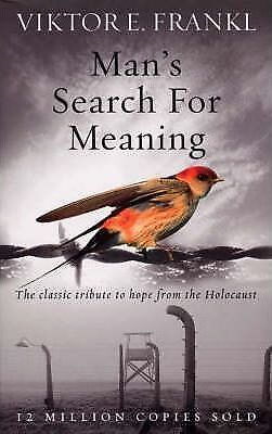 Man's Search For Meaning by Viktor E. Frankl Book NEW & Free Post AU