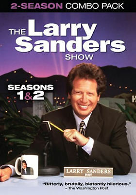 The Larry Sanders Show: Seasons 1 & 2 (DVD, 2014, 3-Disc Set) - Brand New