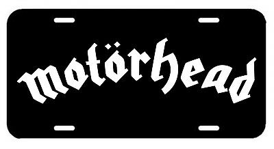 Motörhead ~ License Plate/Tag (Lemmy) Ace of Spades/Killed By Death/Saxon AC/DC