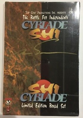 Sealed Cyblade Shi Limited Edition Boxed Set - Signed By Marc Silvestri