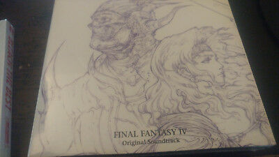 FINAL FANTASY IV SOUNDTRACK 2 CD 1 dvd Miya Records
