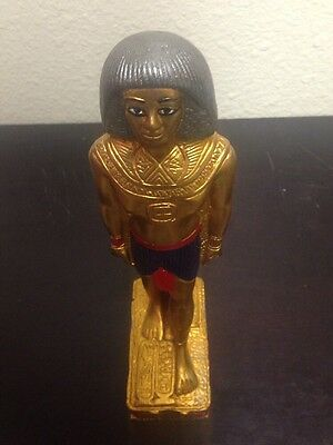 Ancient Egyptian beautiful god Osiris with beautiful design and color weight 5lb