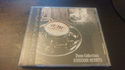 Kingdom Hearts Piano Collections Game Music CD MIYA RECORDS