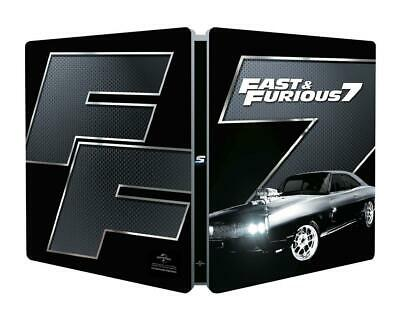 Fast And Furious 7 Limited Edition Steelbook / Region Free Blu Ray... - Movie
