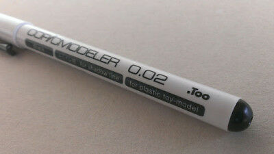 Copic modeller 0.02mm extremely fine point black ink marker pen art design NEW