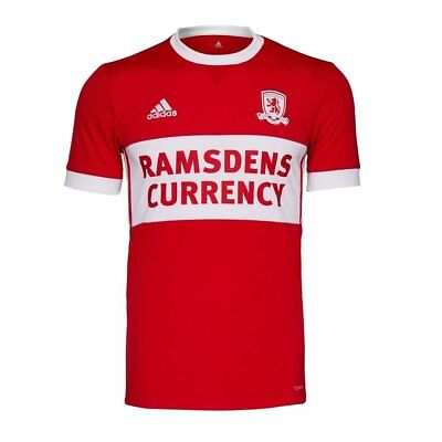 Official Middlesbrough FC Adult Home shirts 2017/2018.   SELLING FAST