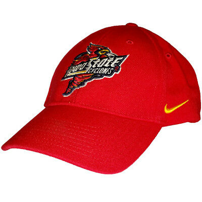 huge discount dbd5e f1a01 Nike Iowa State Cyclones Spinning Cardinal Logo Wool Classic Adjustable Cap  Hat