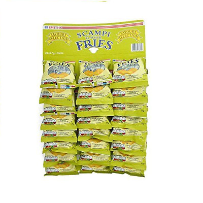 Smiths Scampi Fries Pub Card - 24 x 27g Packs