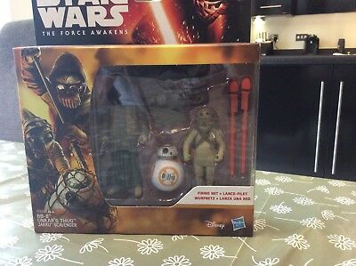 New Disney Star Wars The Force Awakens Action Figure BB-8 Unkars Thug Jakku