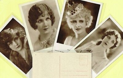 ROSS VERLAG - 1920s Film Star Postcards produced in Germany #1667 to #1730