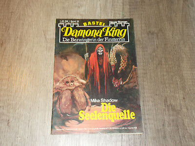 Damona King - Band 35 - Die Seelenquelle - Mike Shadow