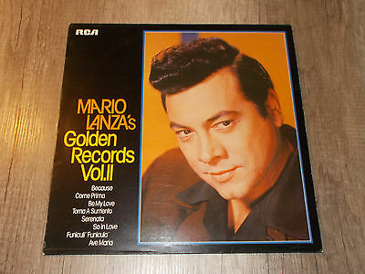 Golden Records Vol. II - Mario Lanza's - Because / Serenata - LP - Vinyl - RCA