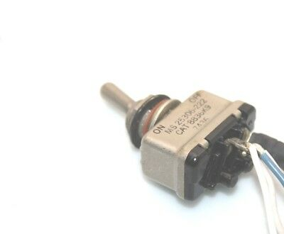 3x Aircraft EATON CUTLER-HAMMER MS25306-222 Toggle Switch 8836K9 ON-OFF SPST 28V