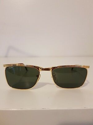 Vintage Ray Ban B&l Bausch Lomb Signet Delux W1305 Signet Dlx Excellent Olympian