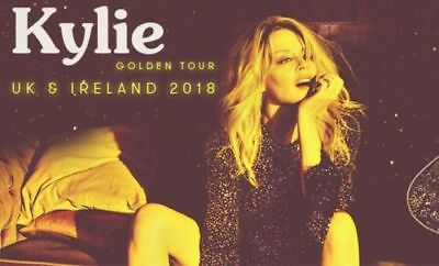 1 x Kylie Minogue O2 General Admission Standing Ticket 27 September 2018 27/9/18