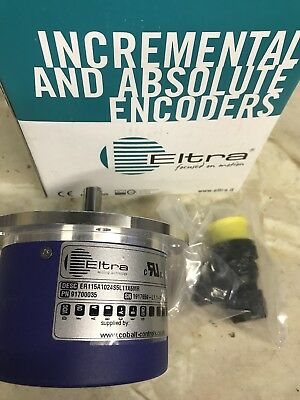 Eltra Trade Incremental Encoder. ER115A1024S5L11X6MR