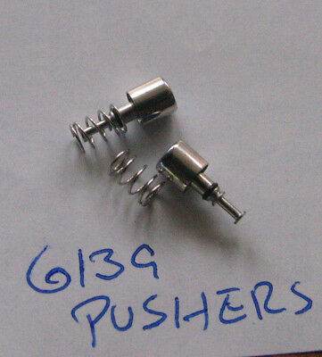 = 1 set PUSHER with Spring New made for SEIKO 6139 Chronograph