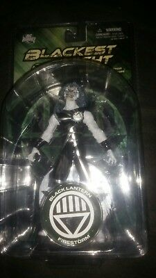 DC Direct - Blackest Night Black Lantern Firestorm - Series 4 Action Figure