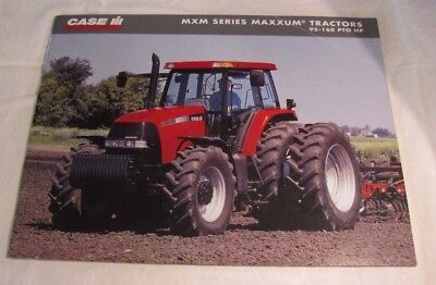 Vintage Case International IH Maxxum MXM 95-160 Tractor Sales Brochure Manual