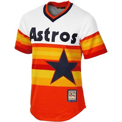 Houston Astros Majestic Athletic Cool Base Cooperstown Baseball Jersey