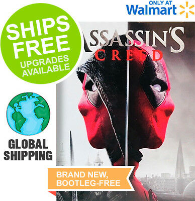 Assassin's Creed (Blu-Ray 2018) NEW, Action, Deadpool, Photobomb Cover