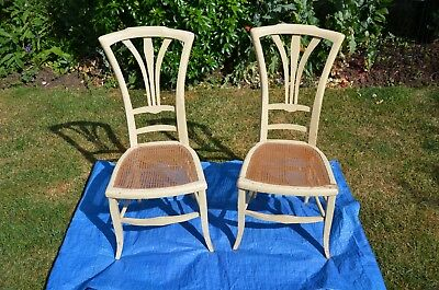 FRENCH ANTIQUE CHAIRS x 2