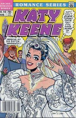 Katy Keene Special #16 1986 VG+ 4.5 Stock Image Low Grade