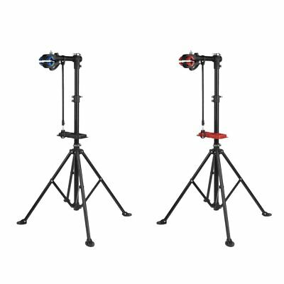 Bike Repair Work Stand  Bracket With Bonus Tool Tray For Home Bicycle Mechanic A