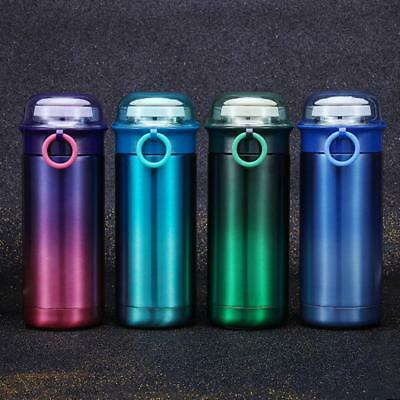 Stainless Steel Insulated Thermos Cup Flask Travel Mug Coffee Water Drink Bottle