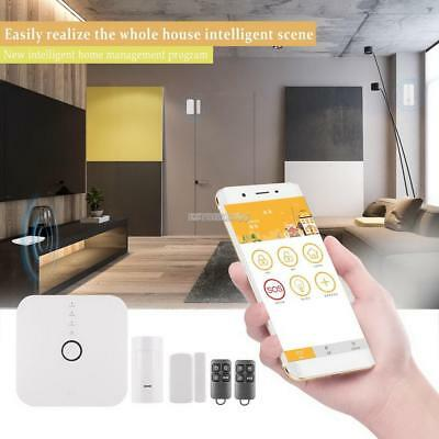 New Wireless Wifi Smart Security Alarm Kit Home Safety APP Remote Control USA