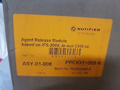 Honeywell Notifier agent release module IFS-2008