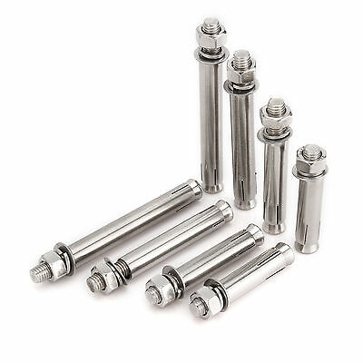 M6~M14 Stainless Steel Sleeve Anchor Fixings For Masonry,Brick,Concrete,Stone