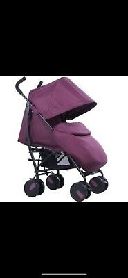 Cuggl Maple Pushchair Mulberry Purple