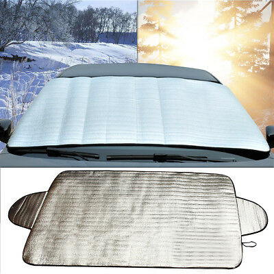 1x Car Windscreen Windshield Cover Sun Heat Ice Snow Dust Protector Front &Rear