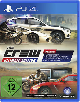 The Crew Ultimate Edition - PlayStation 4 / PS4 (NEU & OVP!)