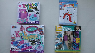 Knitting Looms, Knitting Set, Knit & Weave Fashion Creator (Choice of 4)