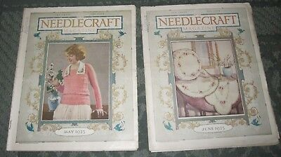 2 May 1923 And June 1923 Publications - Needlecraft