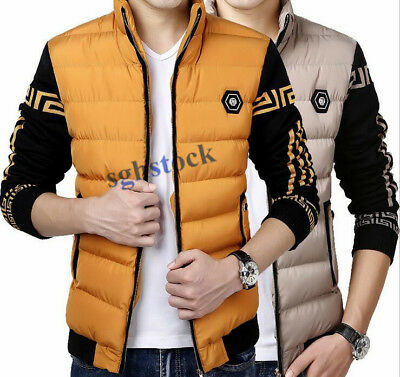 Hot Sale Mens Overcoats Short Tops Jacket Cotton -padded Coats Casual Outerweaar
